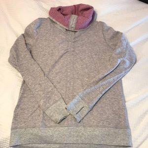 Reversible lulu sweatshirt